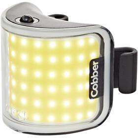 Knog Lil' Cobber Éclairage LED avant, white/black